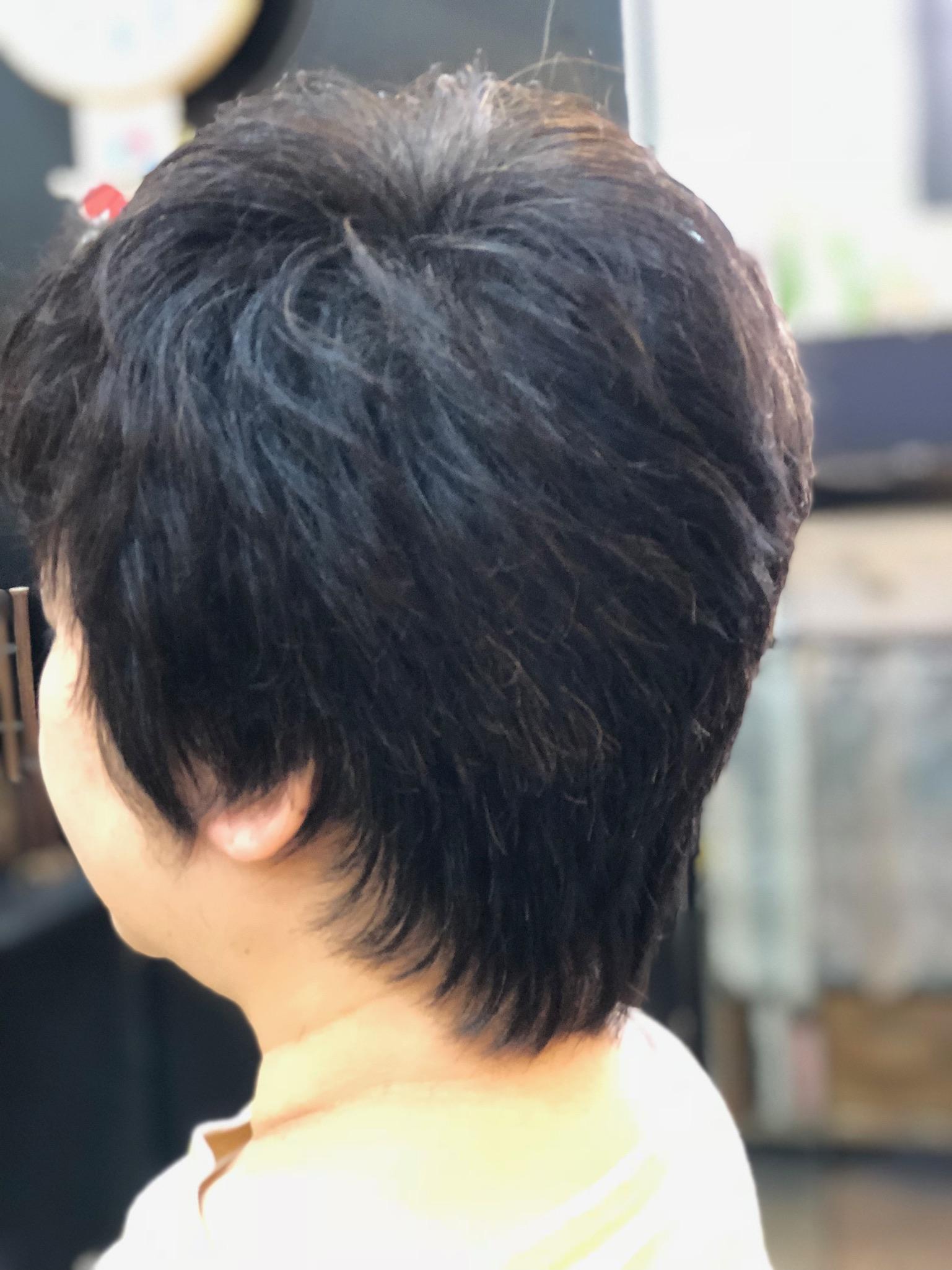 このぐらいの長さがくせ毛でも楽になる!
