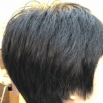 多毛でも軽くふんわりスタイルになります。
