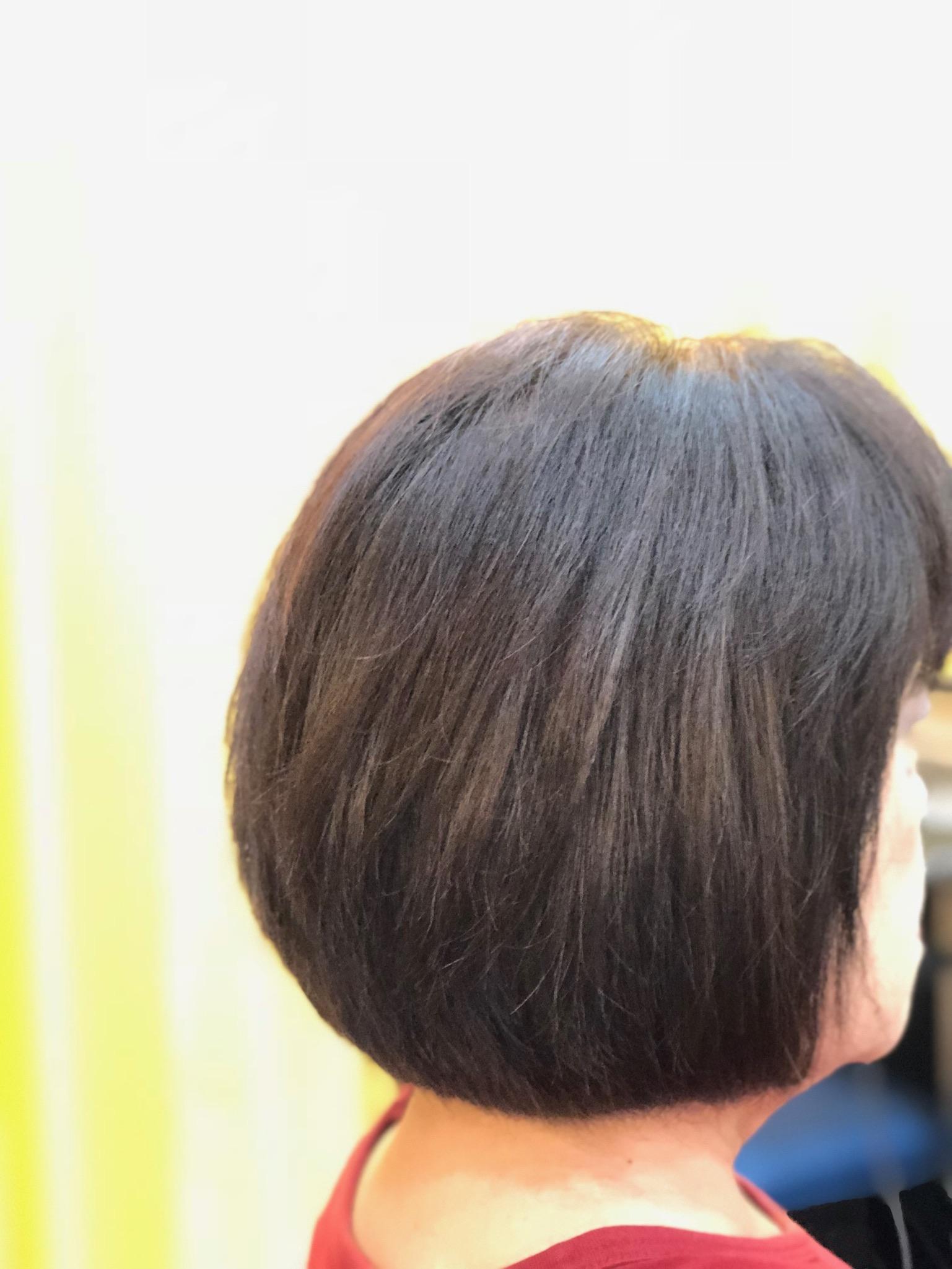 くせ毛でもキュビズムボブで楽ちんヘアーに