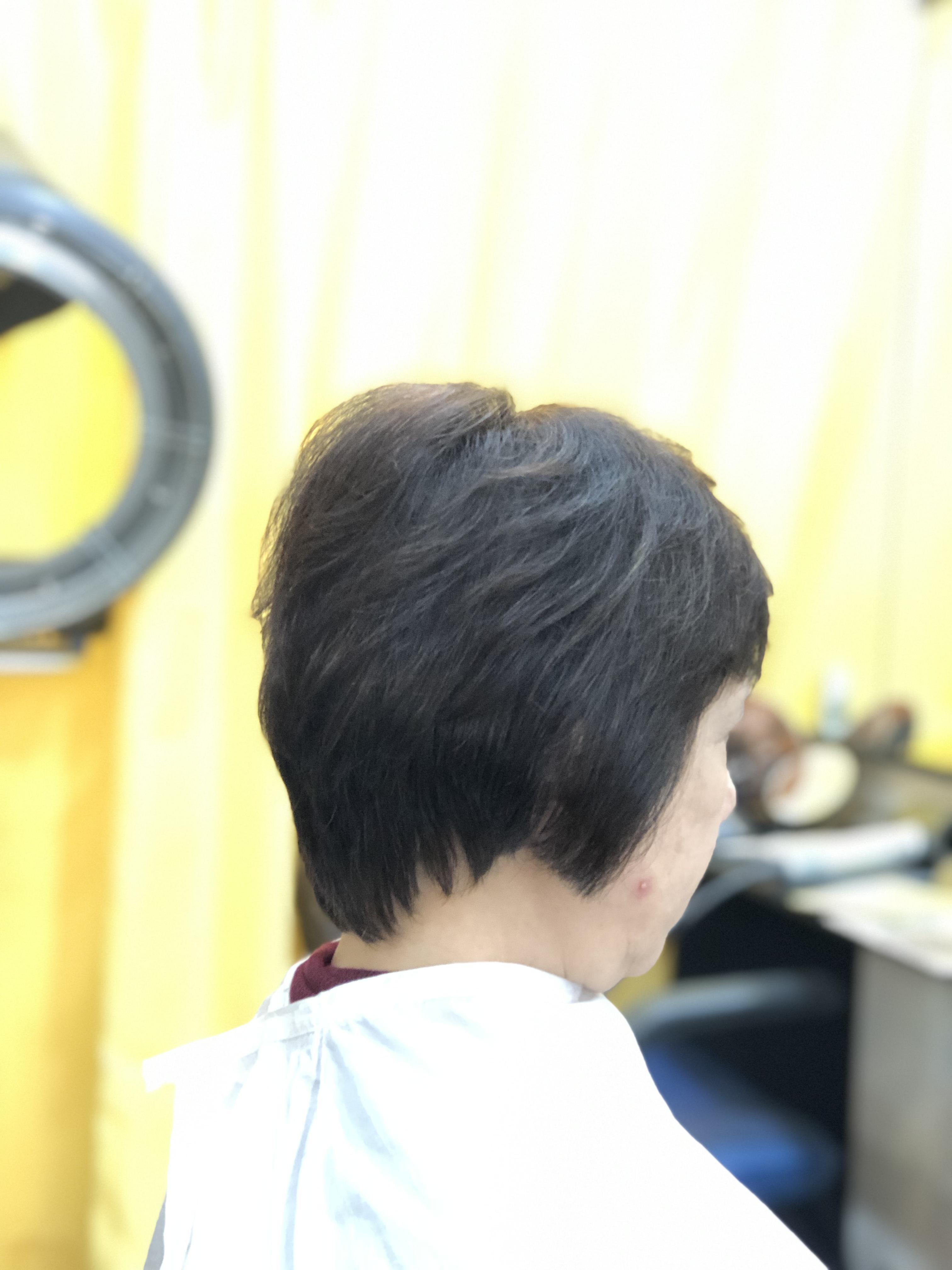 『なんだか髪の毛が増えたみたい』って言って頂けました。