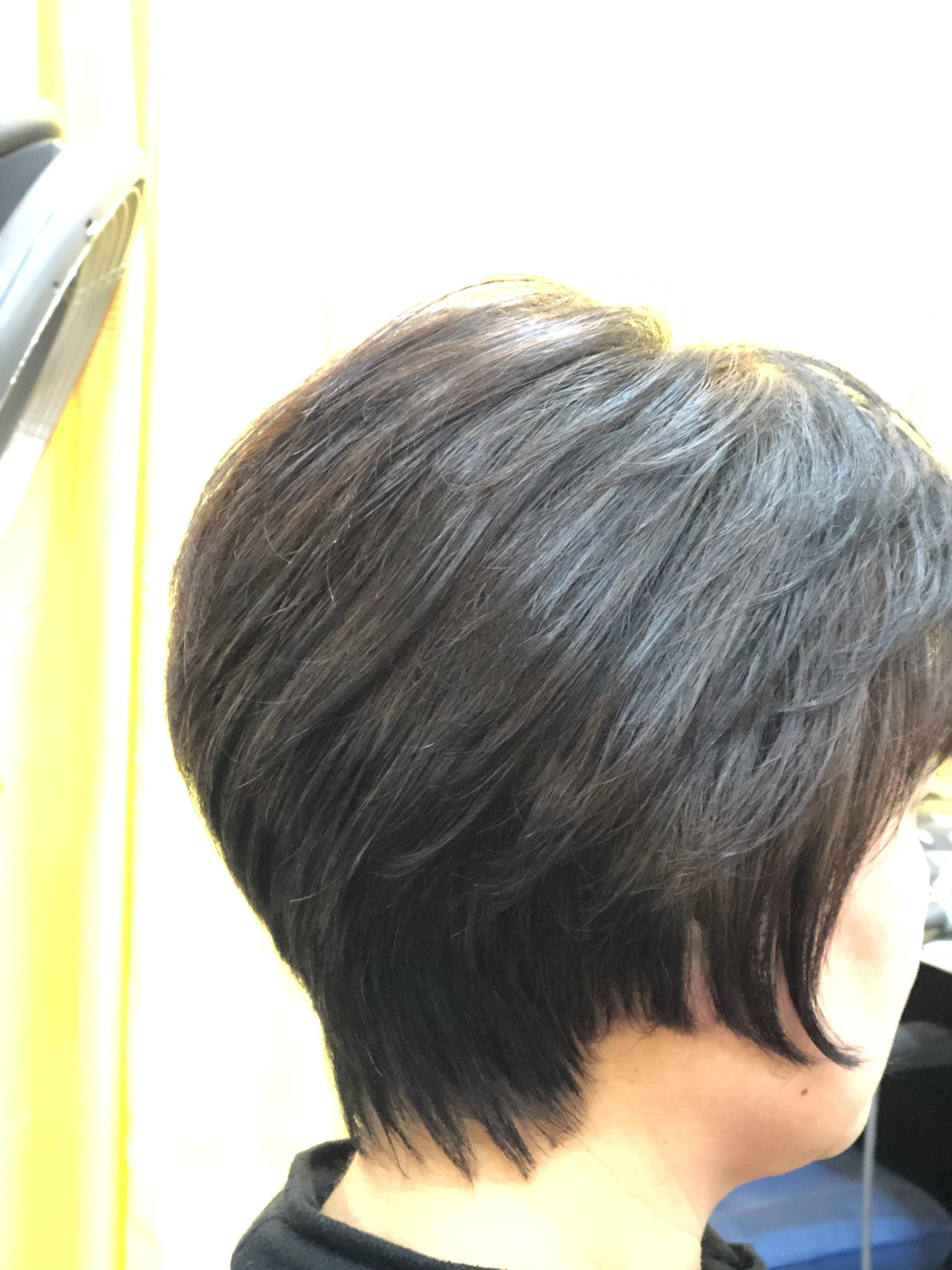 くせ毛でもノンブロースタイルでOK!