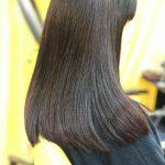 長いヘアースタイルもキュビズムカット&HQヘナ&インディゴ