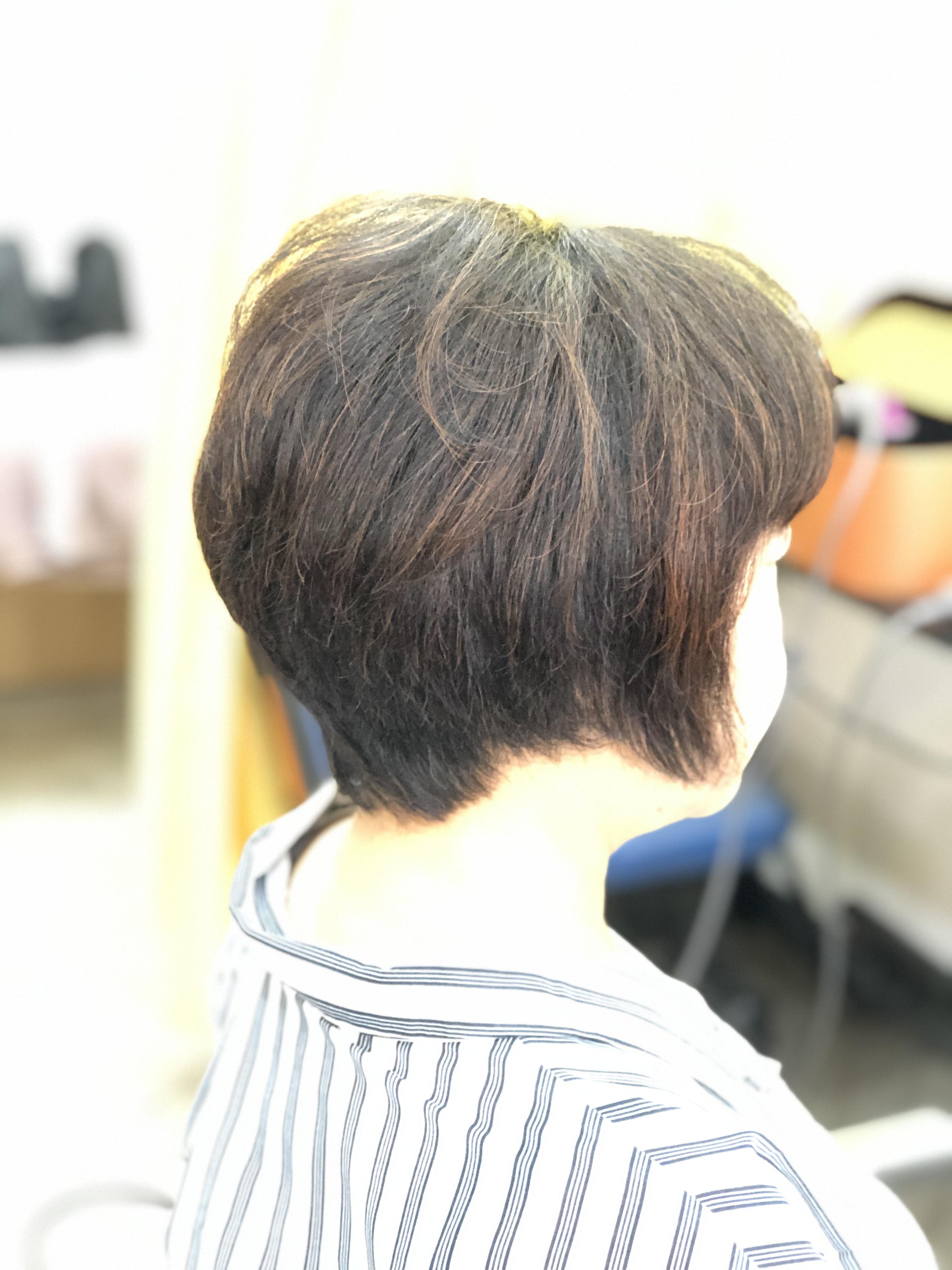 最近、髪の毛が扱い易くなったとお客様から