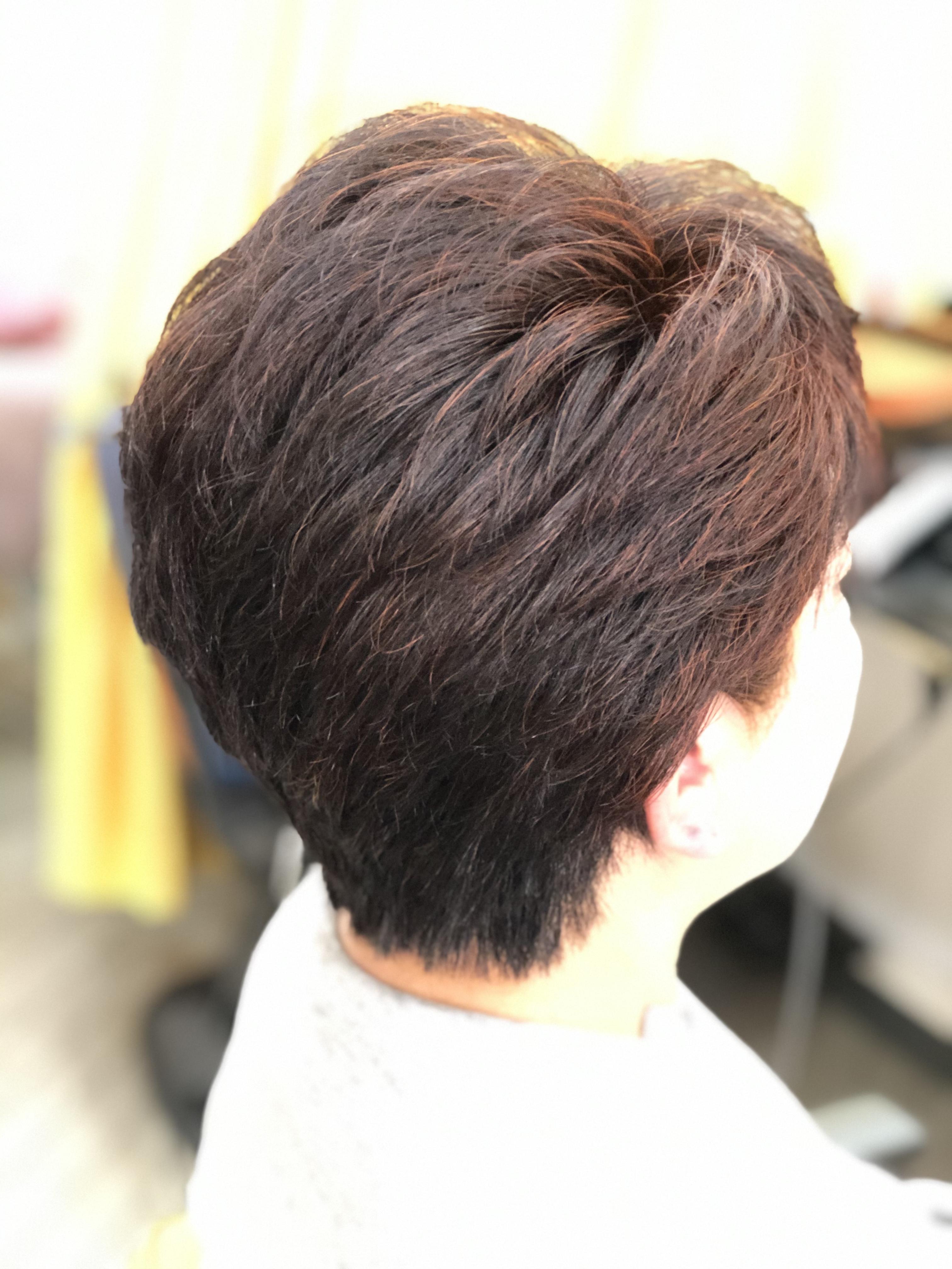 『本当に髪の毛が扱いやすくなってきた』と言われました。