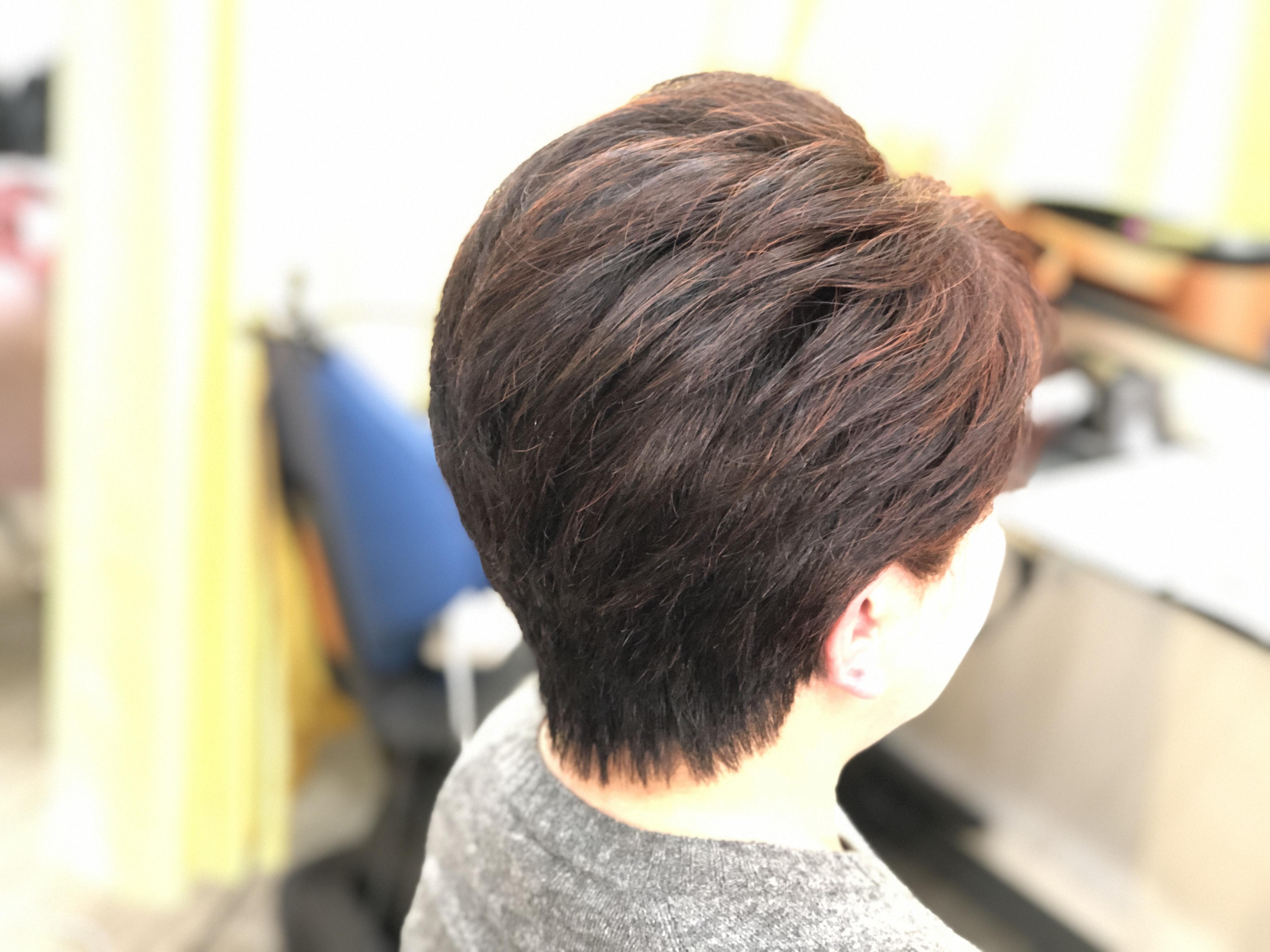 くせ毛の方の簡単ヘアースタイル