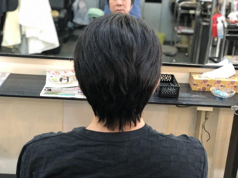 男性のくせ毛さんもキュビズムカットで楽ちんヘアーに