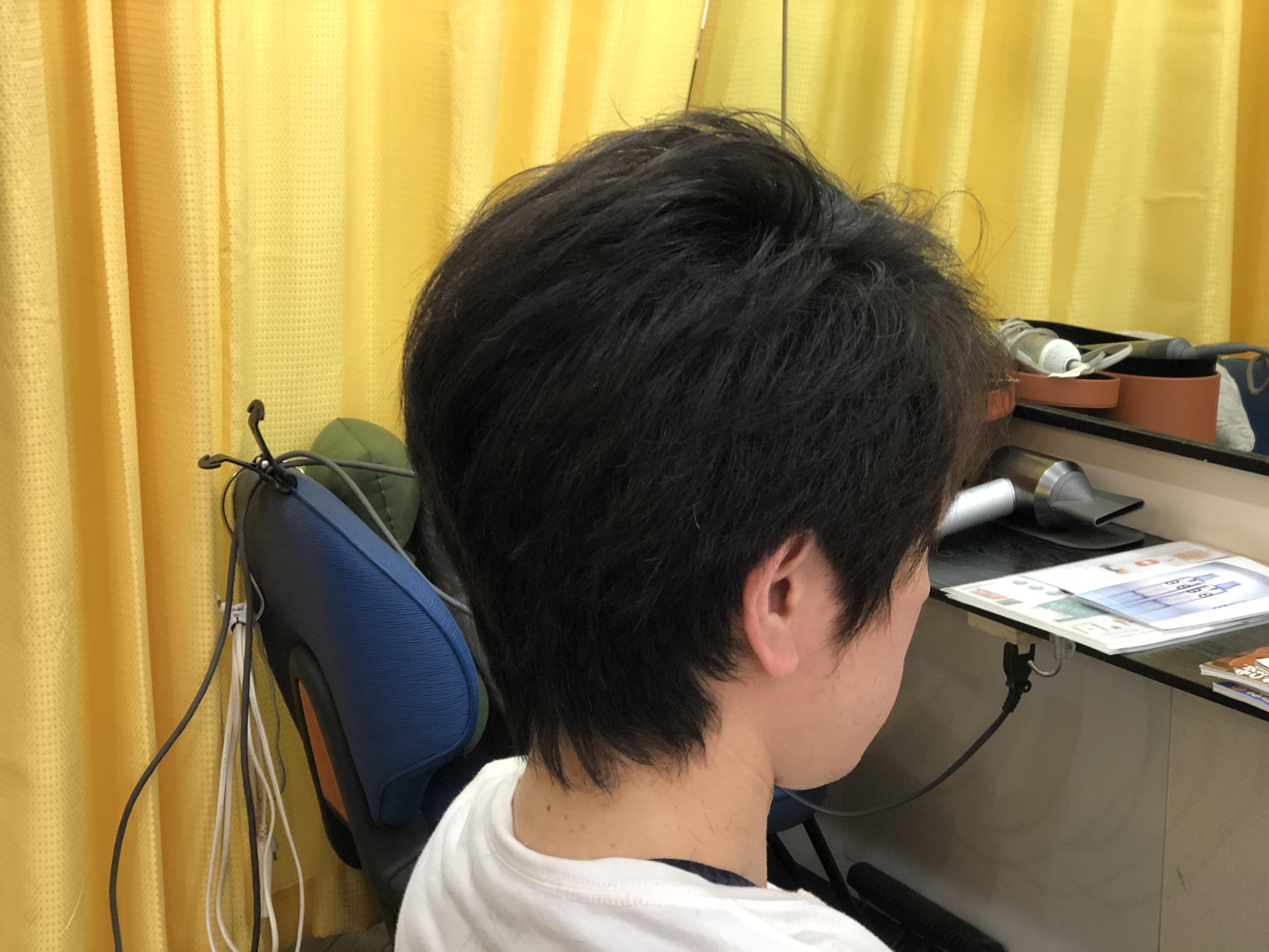 男性のくせ毛でも喜ばれています。
