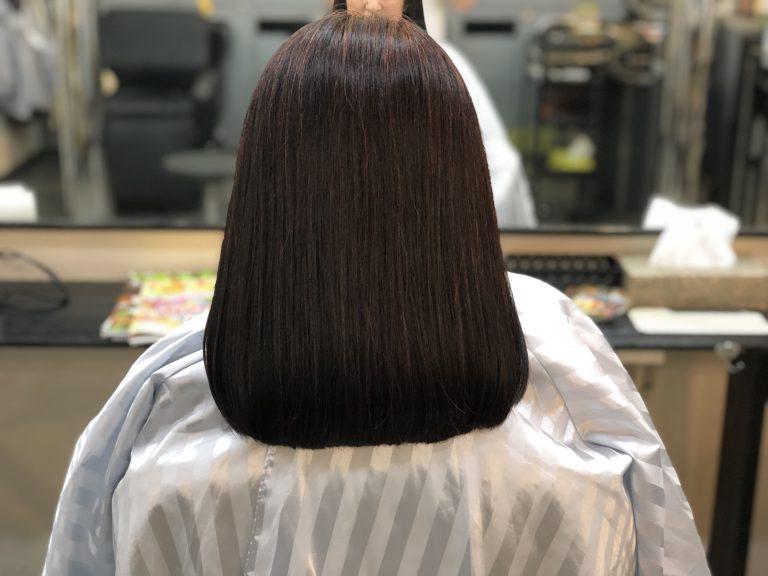 美らヘナで髪質改善です。