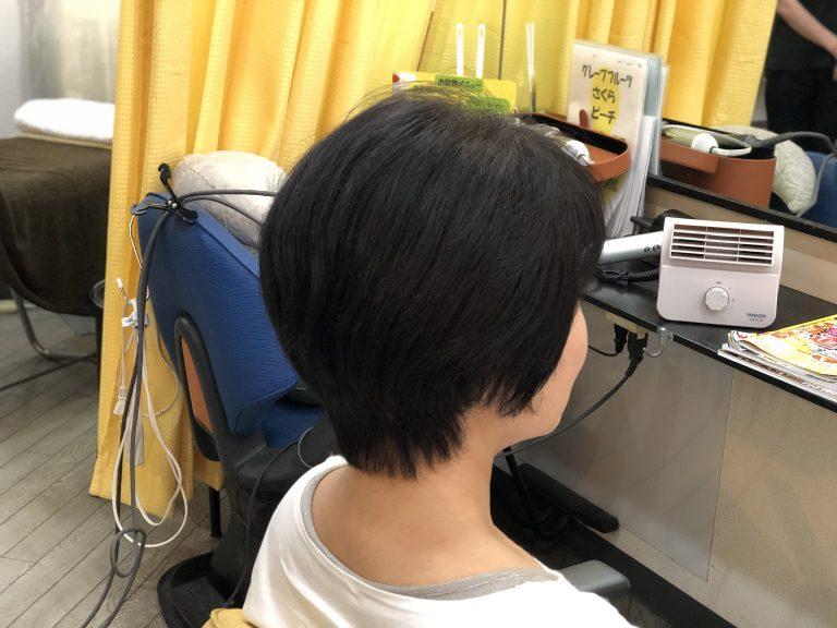 髪の毛の動きからスタイルを作る。