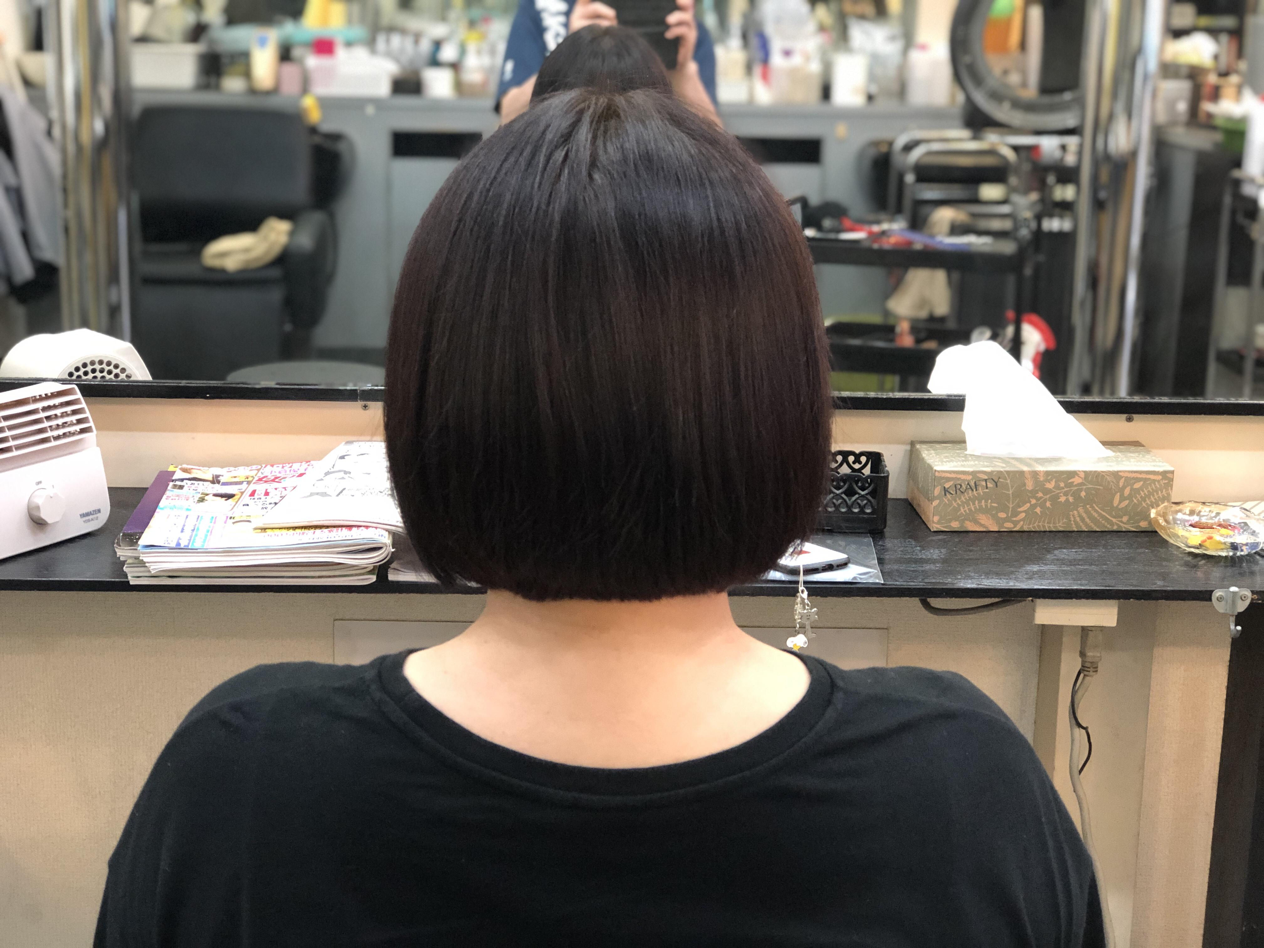 ヘナでツヤと髪質改善