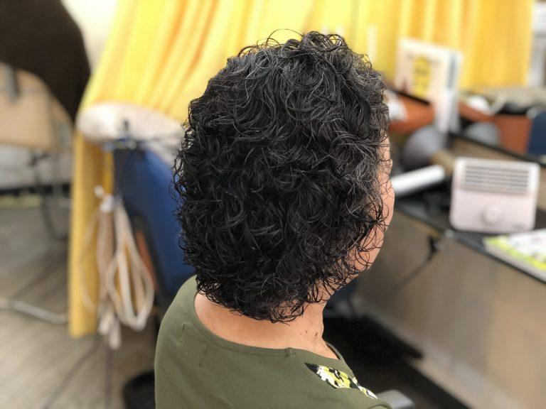 くせ毛の方のパーマスタイル