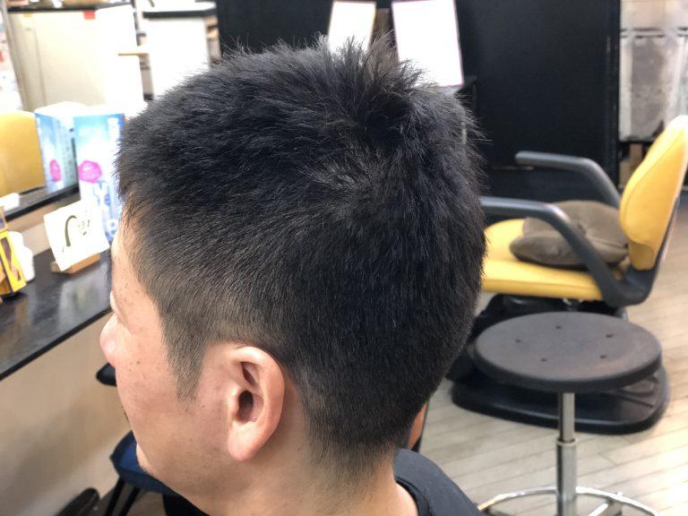 男性のくせ毛でも楽になります。