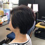 くせ毛でも簡単なスタイルになります。