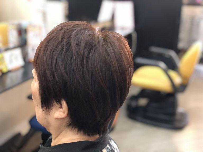 HQヘナで髪質改善