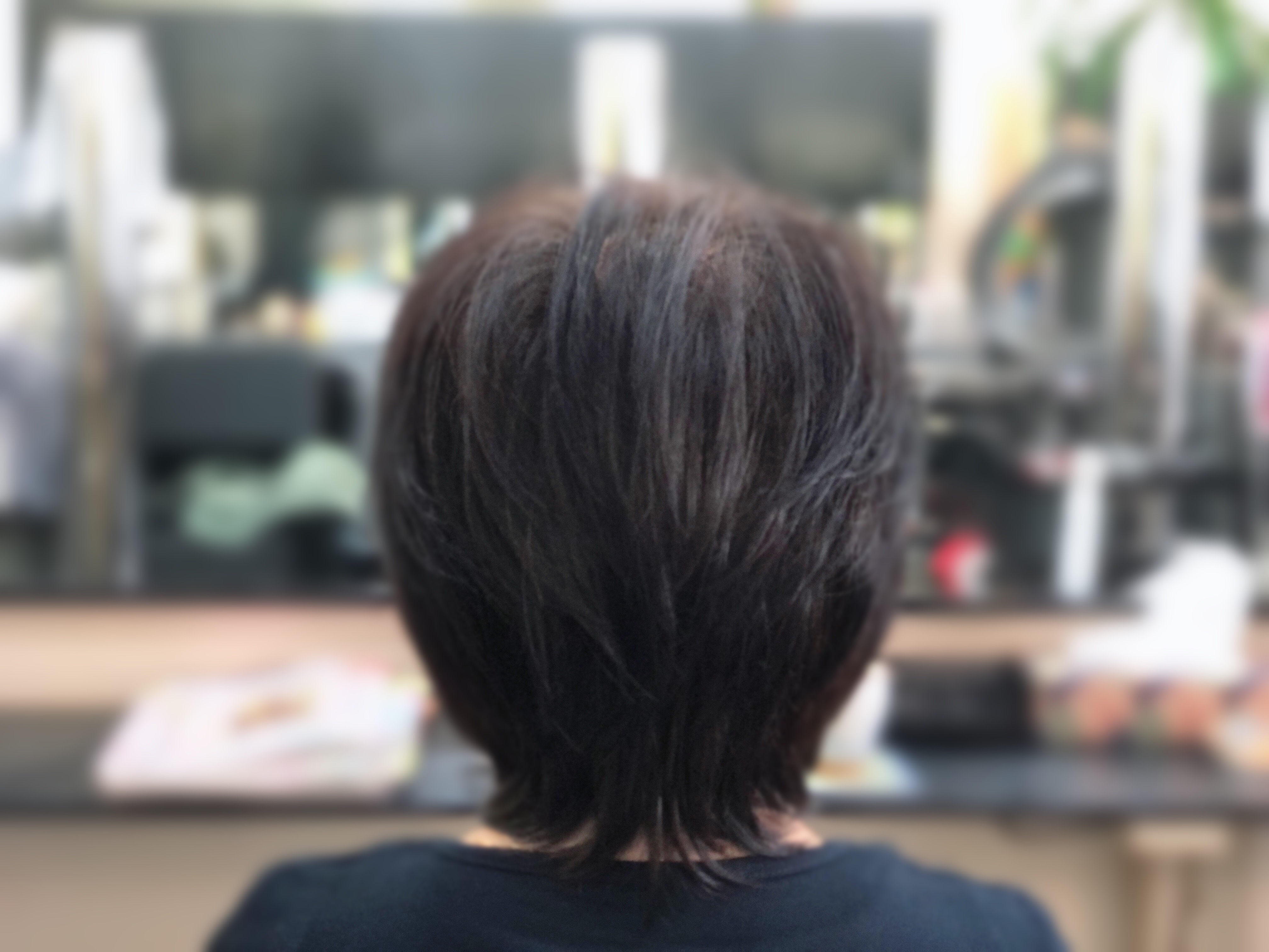 くせ毛でも簡単で楽にスタイルになります。