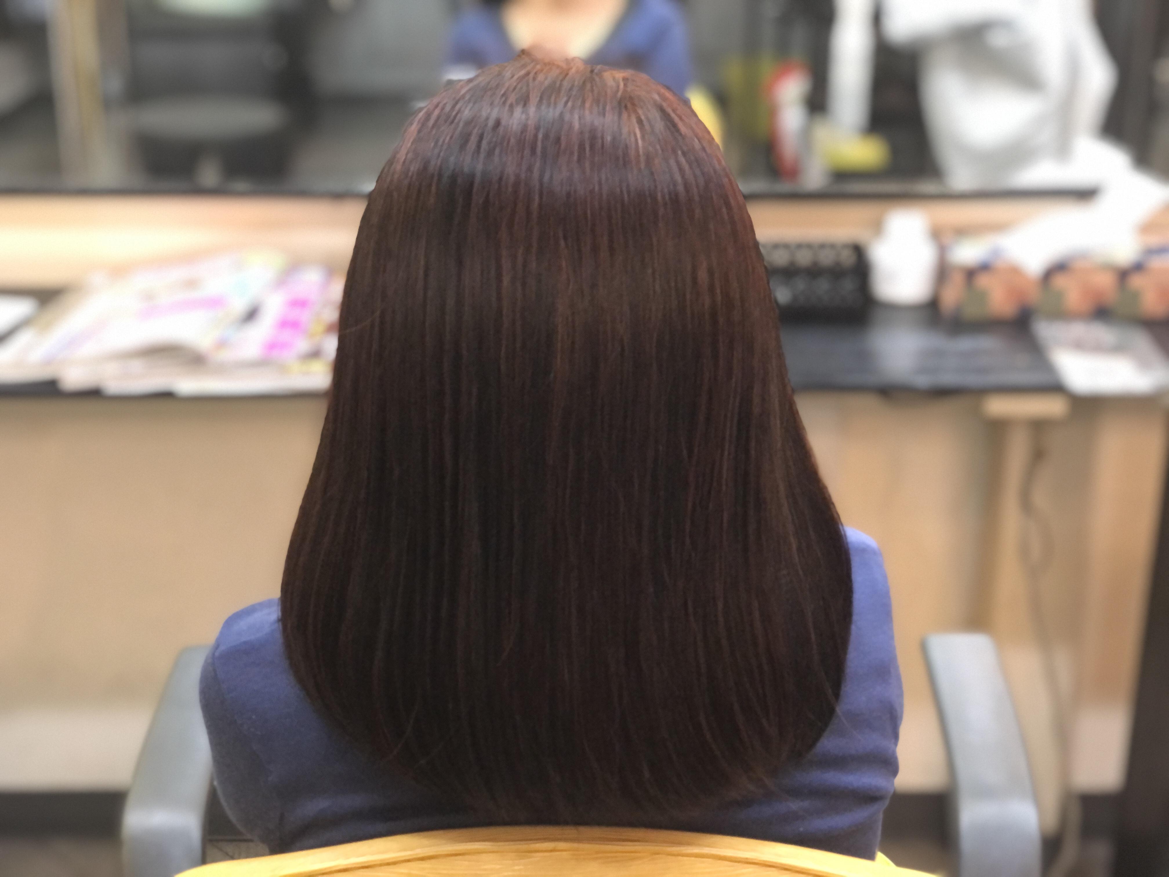 くせ毛の方に美らヘナは相性が良い