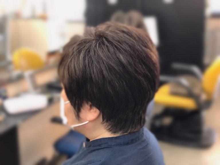 くせ毛の方でもブローレスで簡単スタイル