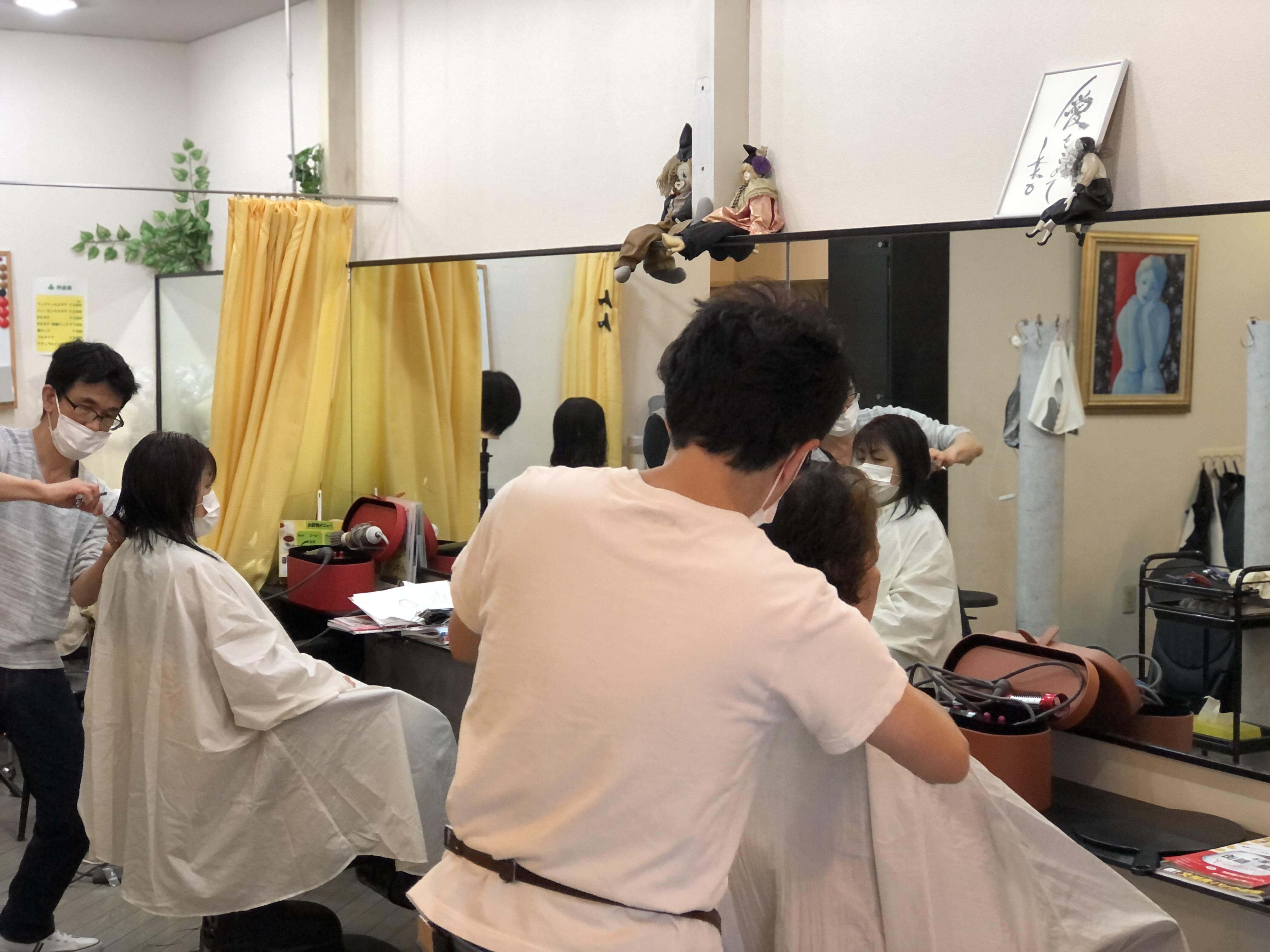 千葉キュビズムカット講習会でした