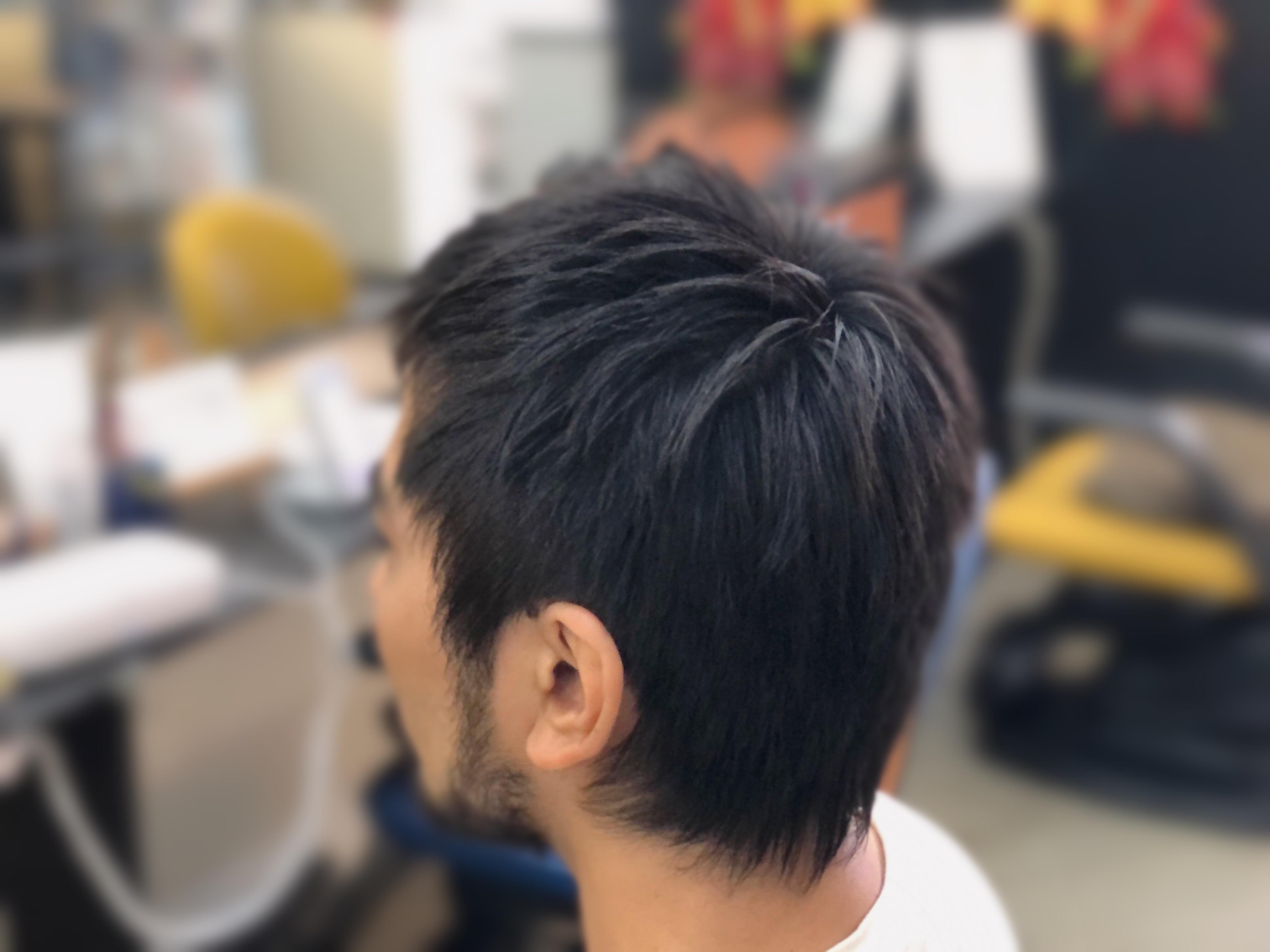 男性のくせ毛も大丈夫