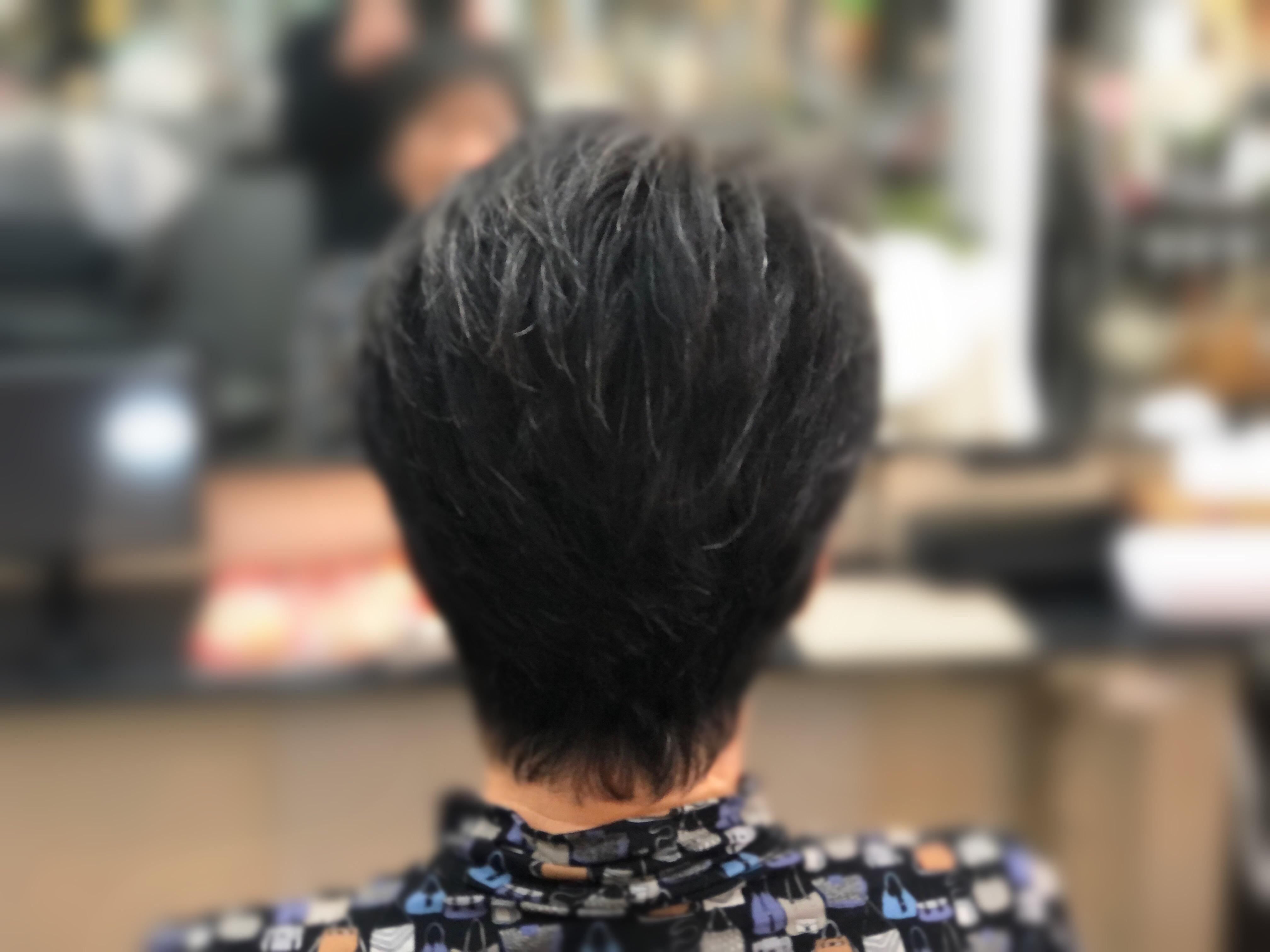 くせ毛の方でもブローレスで簡単なスタイル🤗